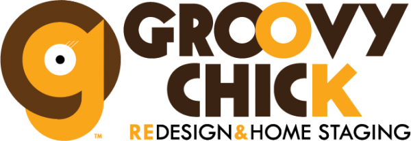 Groovy Chick Redesign & Home Staging Logo